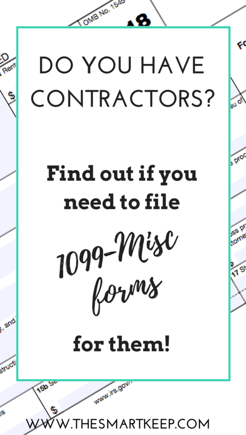 Am I Supposed To File A 1099 Misc Form Pinterest File 1099