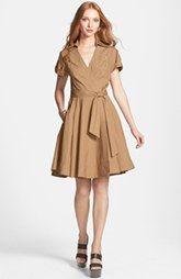 See Price For Diane von Furstenberg 'Kaley' Pleated Cotton Blend Wrap Dress Here : http://www.thailandpriceza.com/go.php?url=http://shop.nordstrom.com/S/diane-von-furstenberg-kaley-pleated-cotton-blend-wrap-dress/3660380?origin=category&BaseUrl=All+Women%27s+Clothing