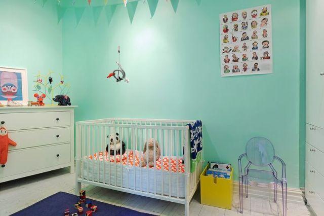 Kleur interieur inspiratie voor de babykamer kinderkamer in