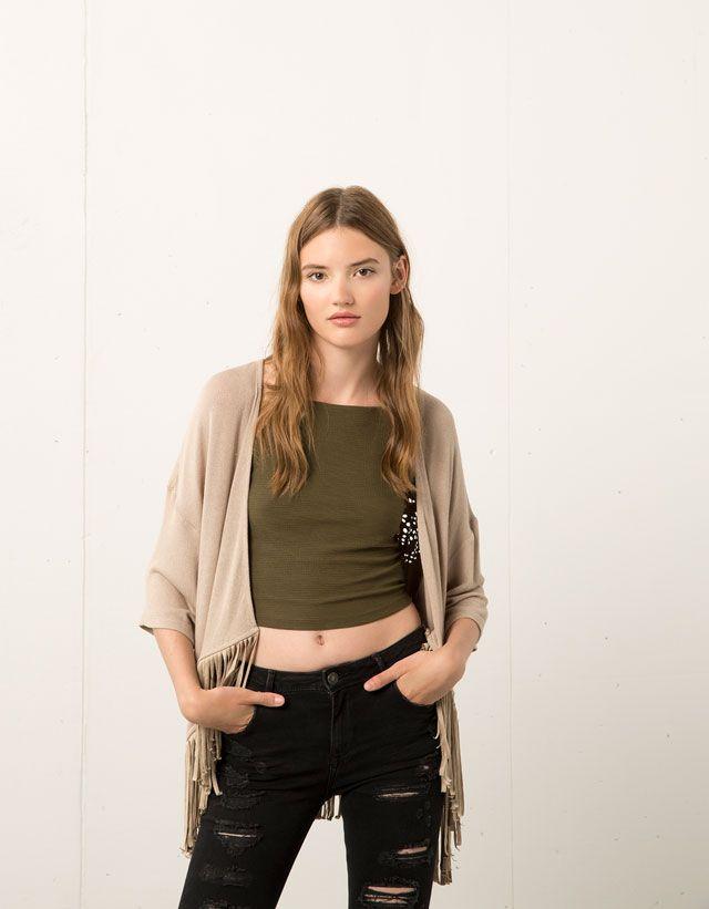0cd2d209d Ropa Bershka: colección otoño-invierno 2018/2019   ropa   Bershka ...