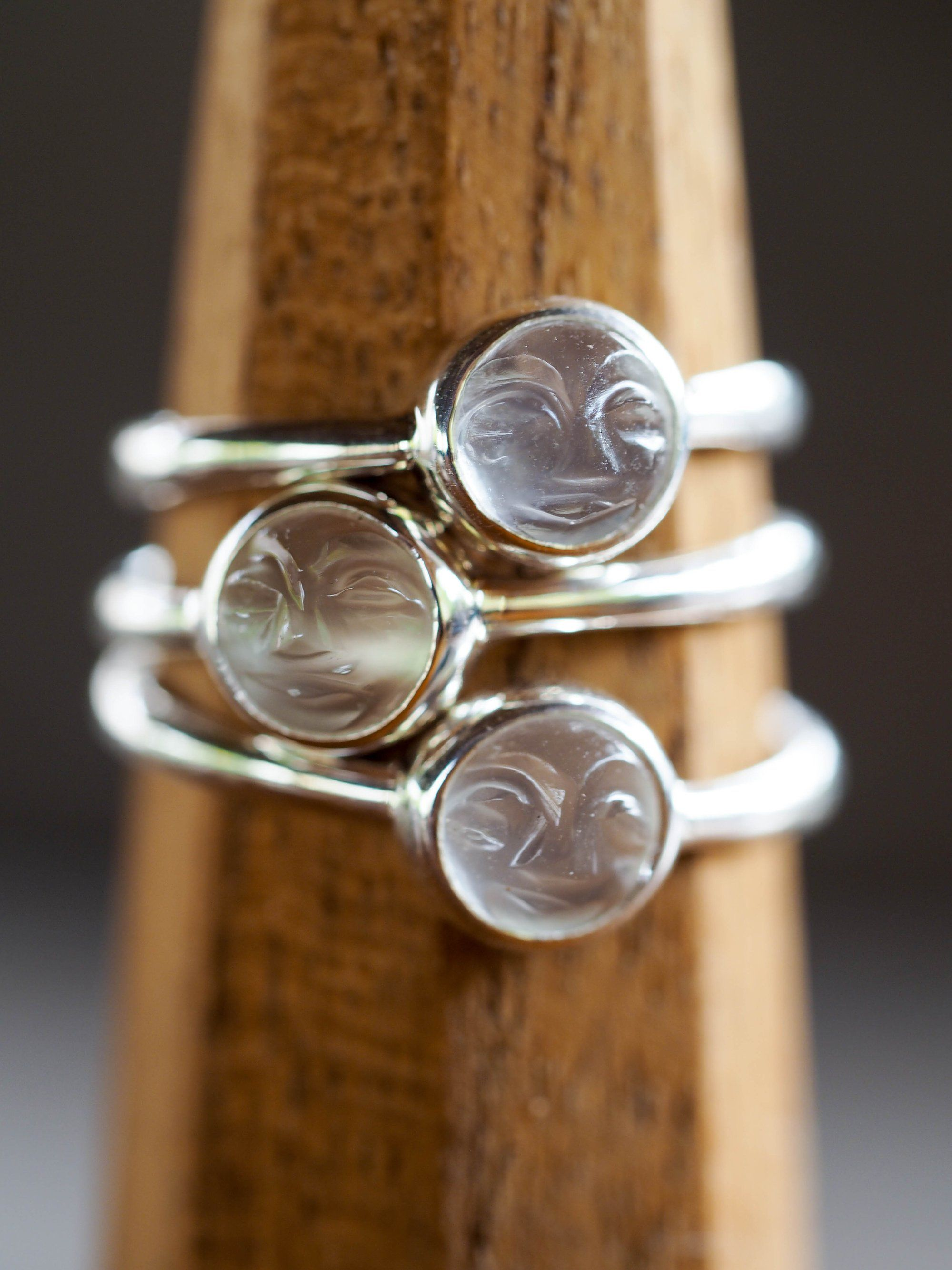 Moonstone Smile Ring | Gardens of the Sun Jewelry | Pinterest ...