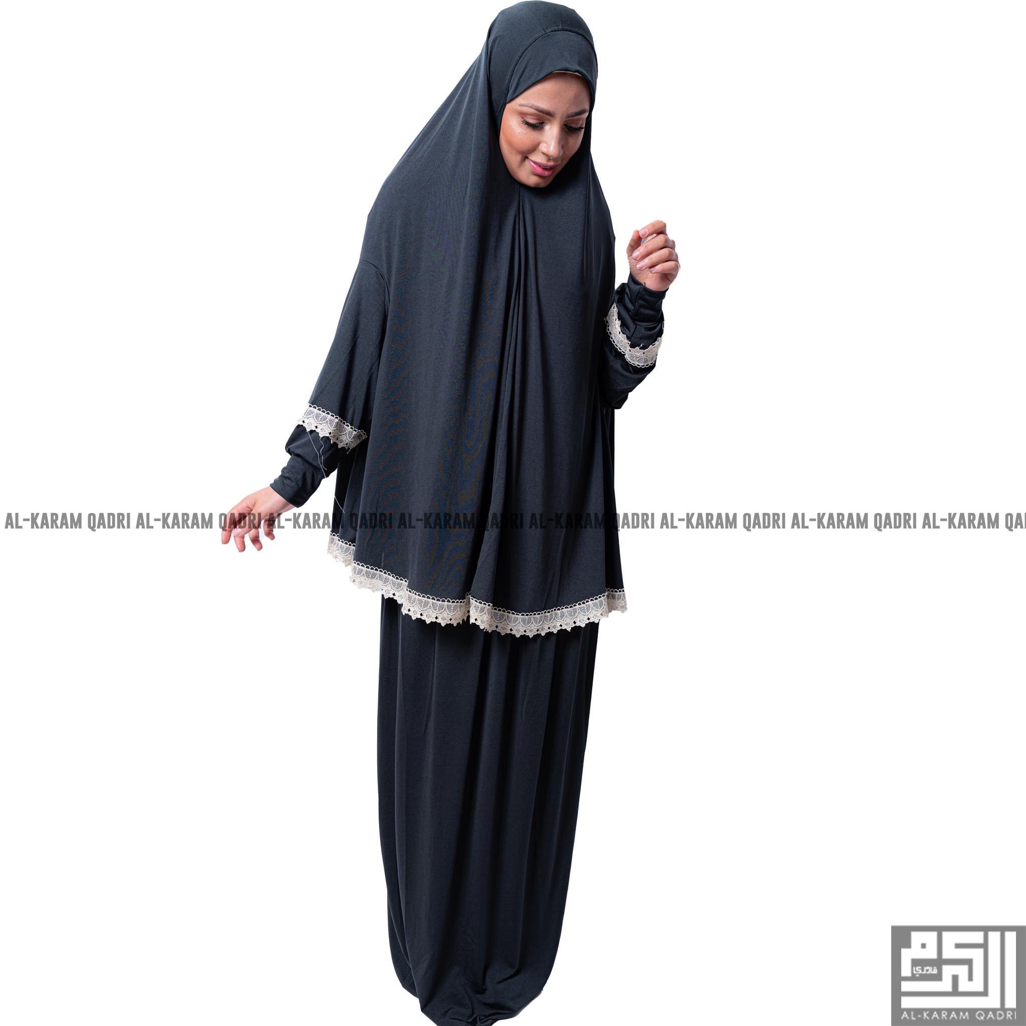 Comfy Lycra Prayer Set Clothes Modest Outfits Islamic Fashion