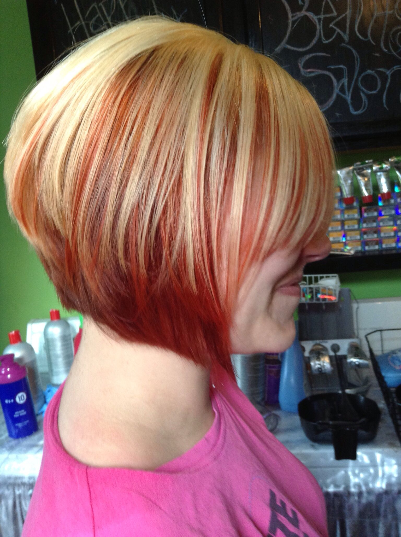 Chi hair color.. Reds, coppers & blonde | Beautiful Hair ...