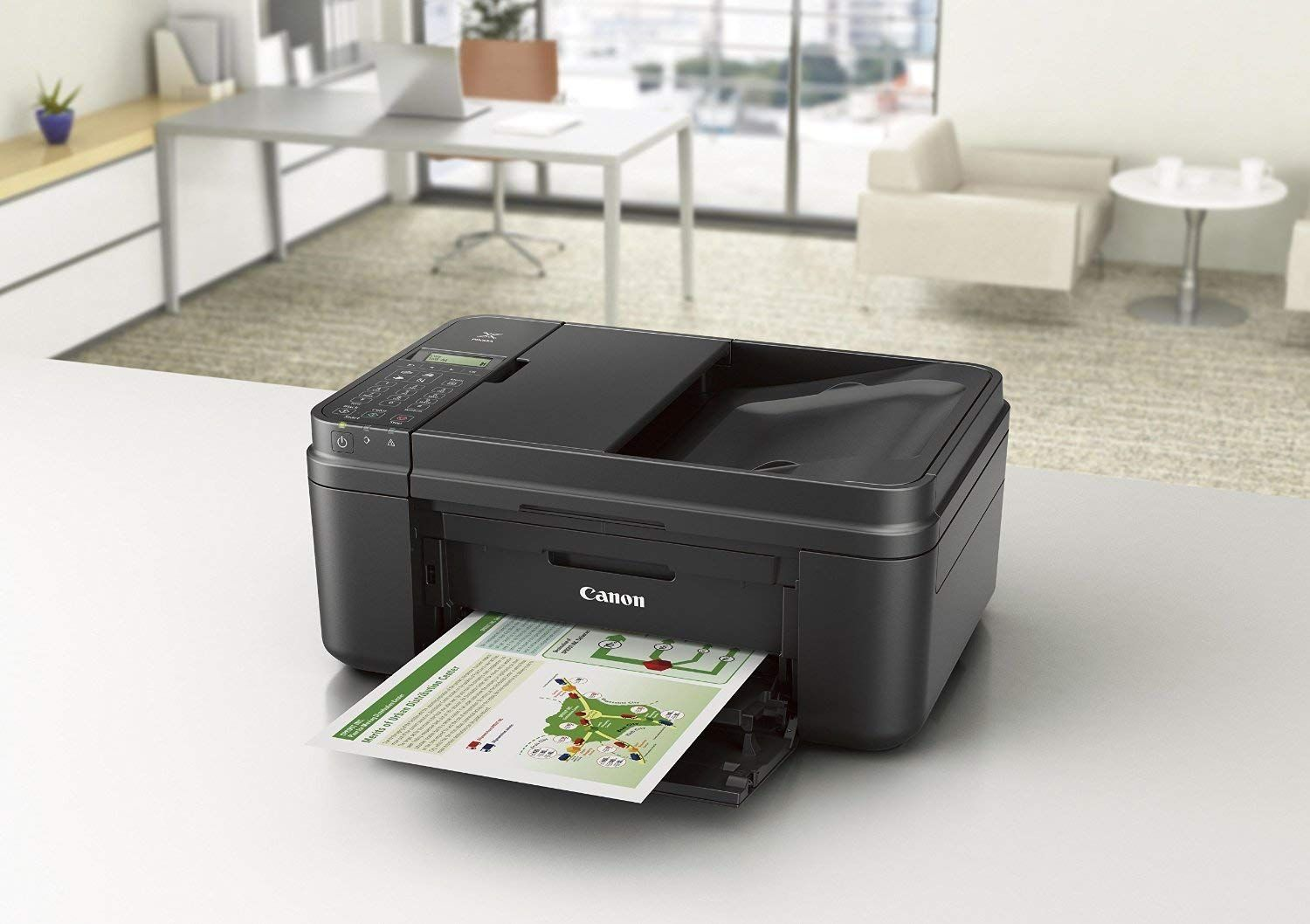 Canon Pixma Mx490 Wireless Office All In One Inkjet Printercopier