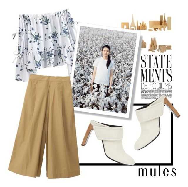 """""""Long Time No See"""" by vxstitus ❤ liked on Polyvore featuring Muji, rag & bone and mules"""