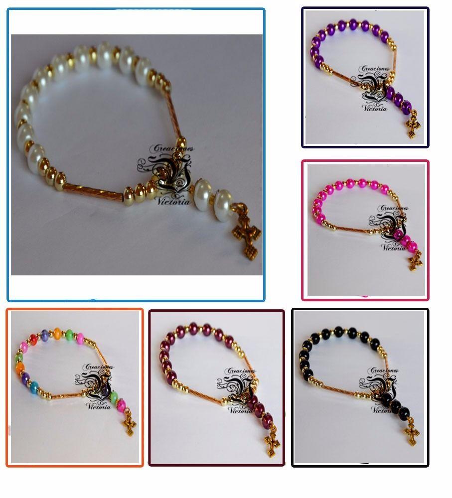 273cfbc04c72 pulseras rosarios