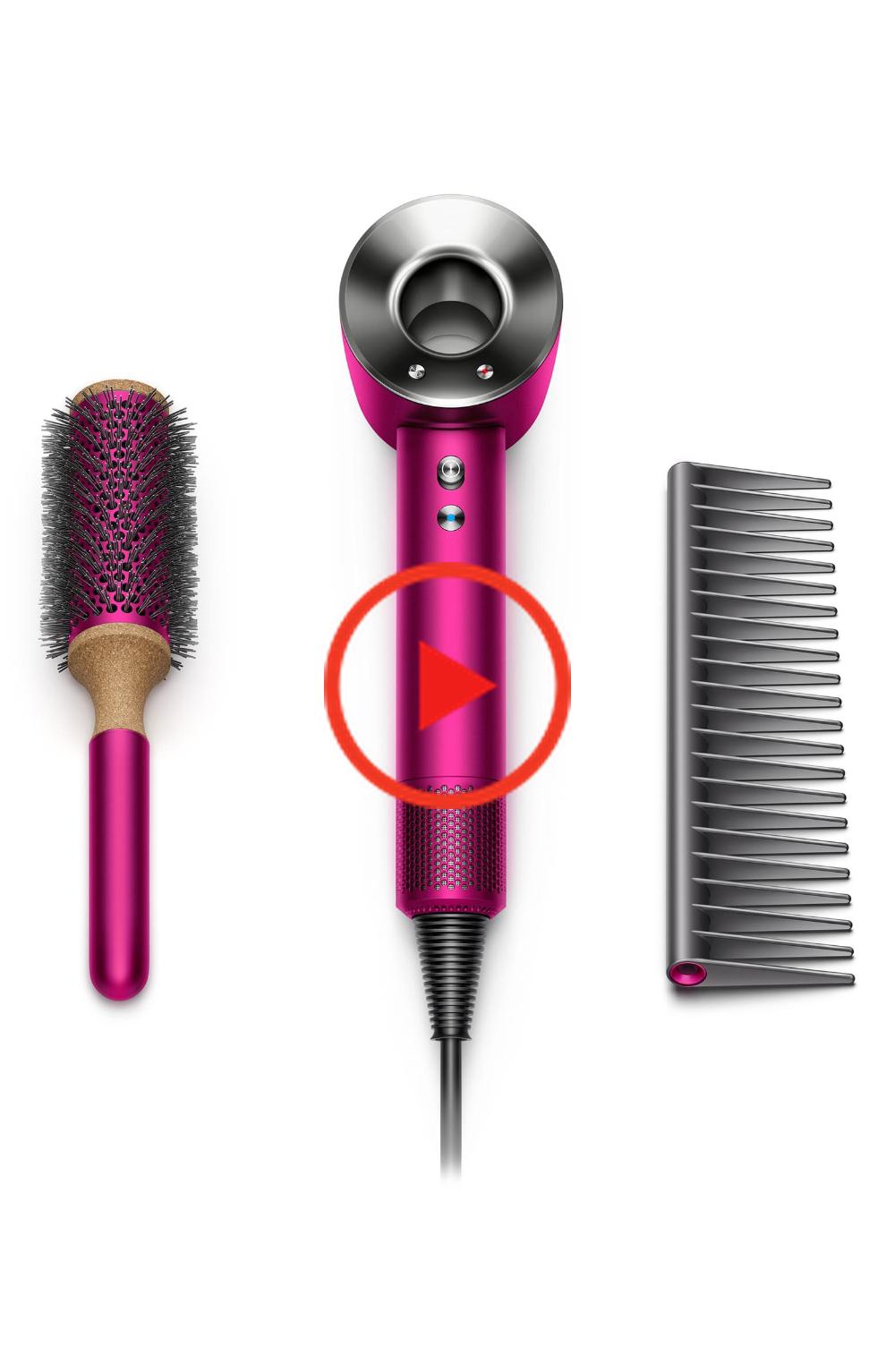 Dyson Supersonic Fuchsia Haartrockner Set Usd 465 Value Nordstrom Hair Dryer Set Hair Dryer Dyson