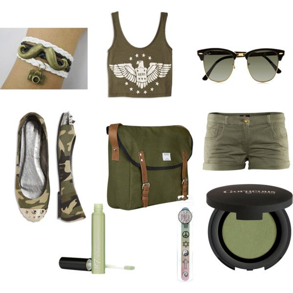 green outfit by kyla-ester on Polyvore