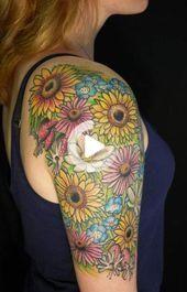 Photo of 50 trendy tattoo sunflower sleeve google –  # Check more at ganseb.vasepin.si…