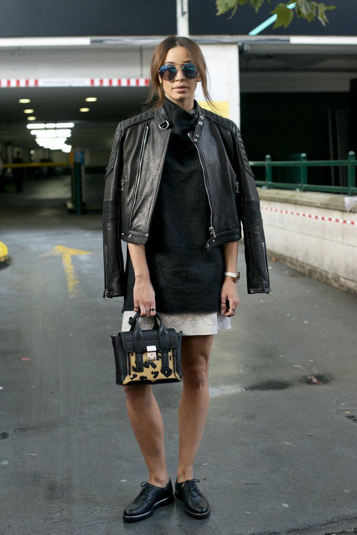 Pin for Later: Updated! All the Best London Fashion Week Street Style Day 1 Danielle Peazer.