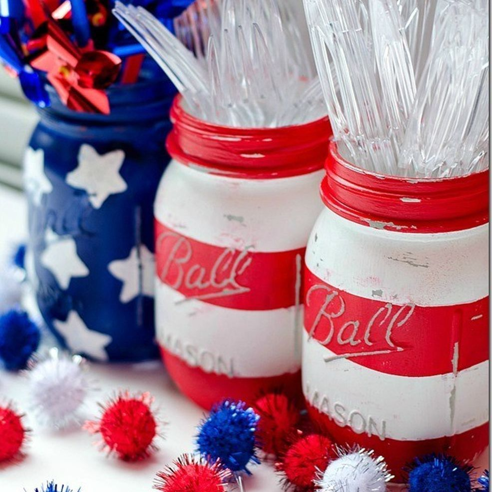 Memorial Day 4th Of July Labor Decor Summer Fun Pinterest Labour Patriotic Party And Decoration