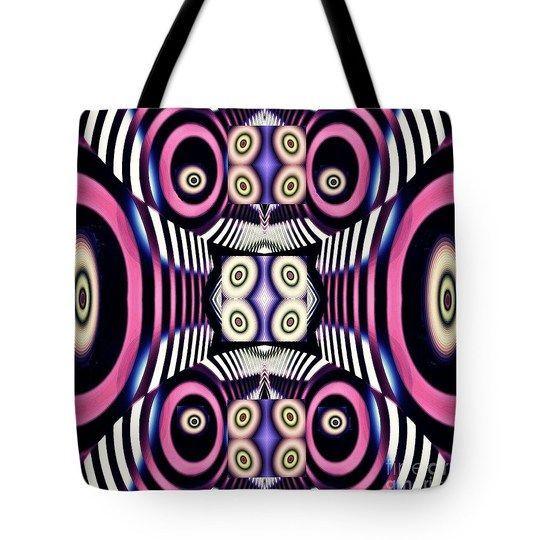 Decorative Fractal Tile 4 Tote Bag  http://fineartamerica.com/products/decorative-fractal-tile-4-sarah-l..  #totebags #sarahloft #digitalart #digital #abstract