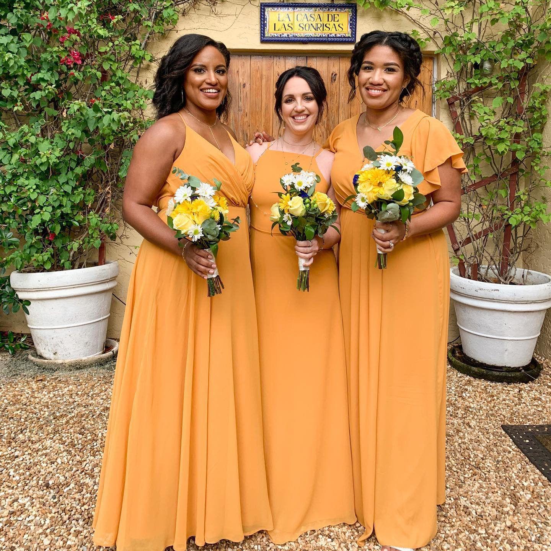 Marigold Bridesmaid Dresses Marigold Bridesmaid Dress Bridesmaid Dresses Bridesmaid [ 1440 x 1440 Pixel ]