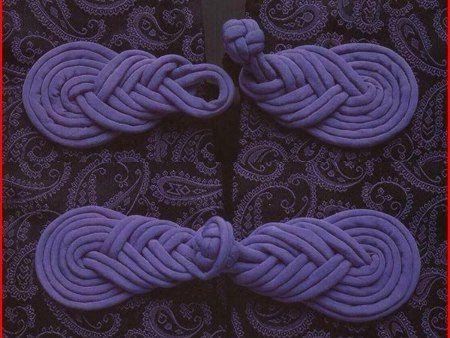 Broche de Trapillo para Kimonos - Tutorial