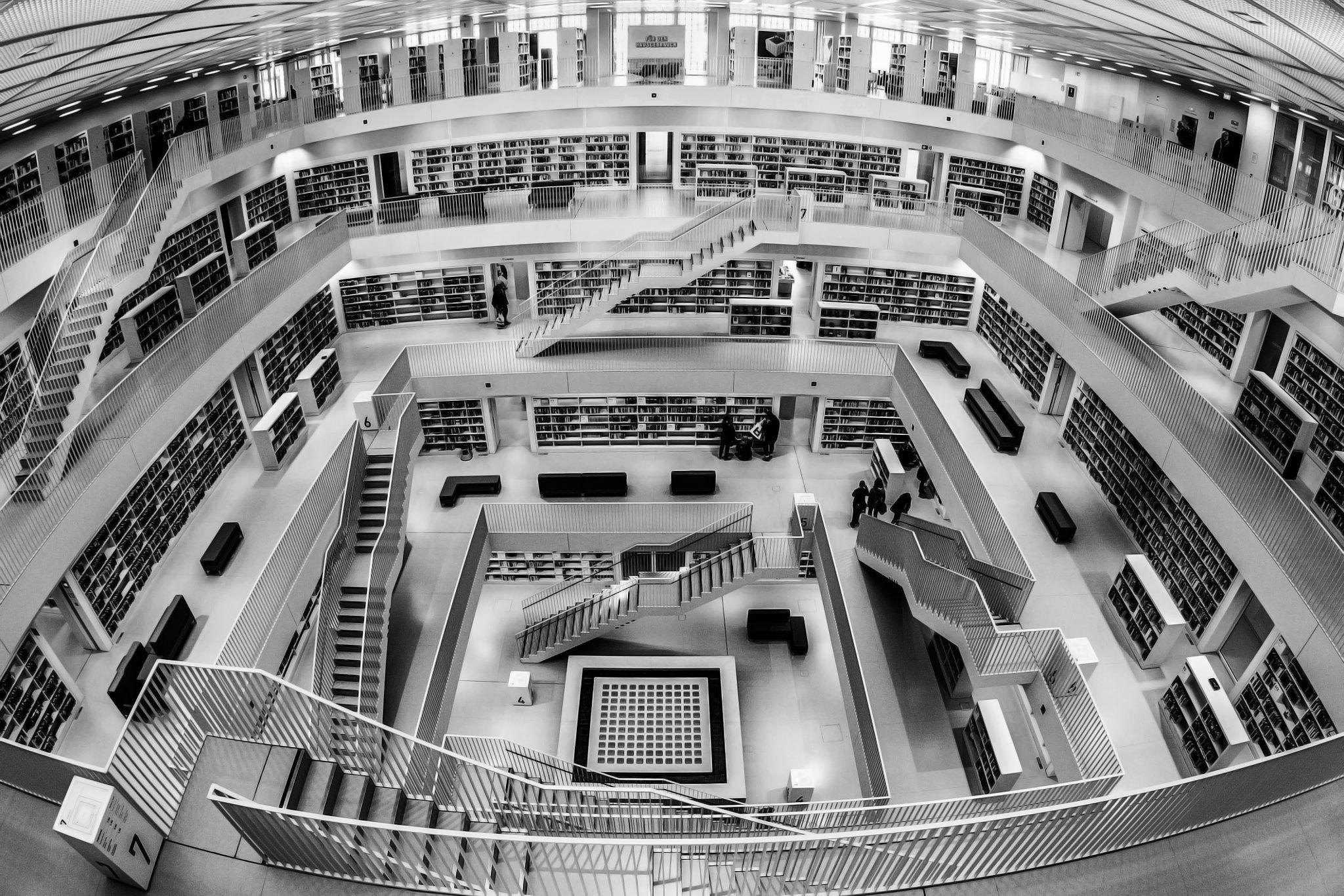 "Stuttgart City Library - The Stadtbibliothek Stuttgart is the public library of the city of Stuttgart.  Follow me on: <a href=""https://www.facebook.com/cyberstudioinfo"">FACEBOOK</a>    <a href=""https://www.instagram.com/atanasov7"">INSTAGRAM</a>  "