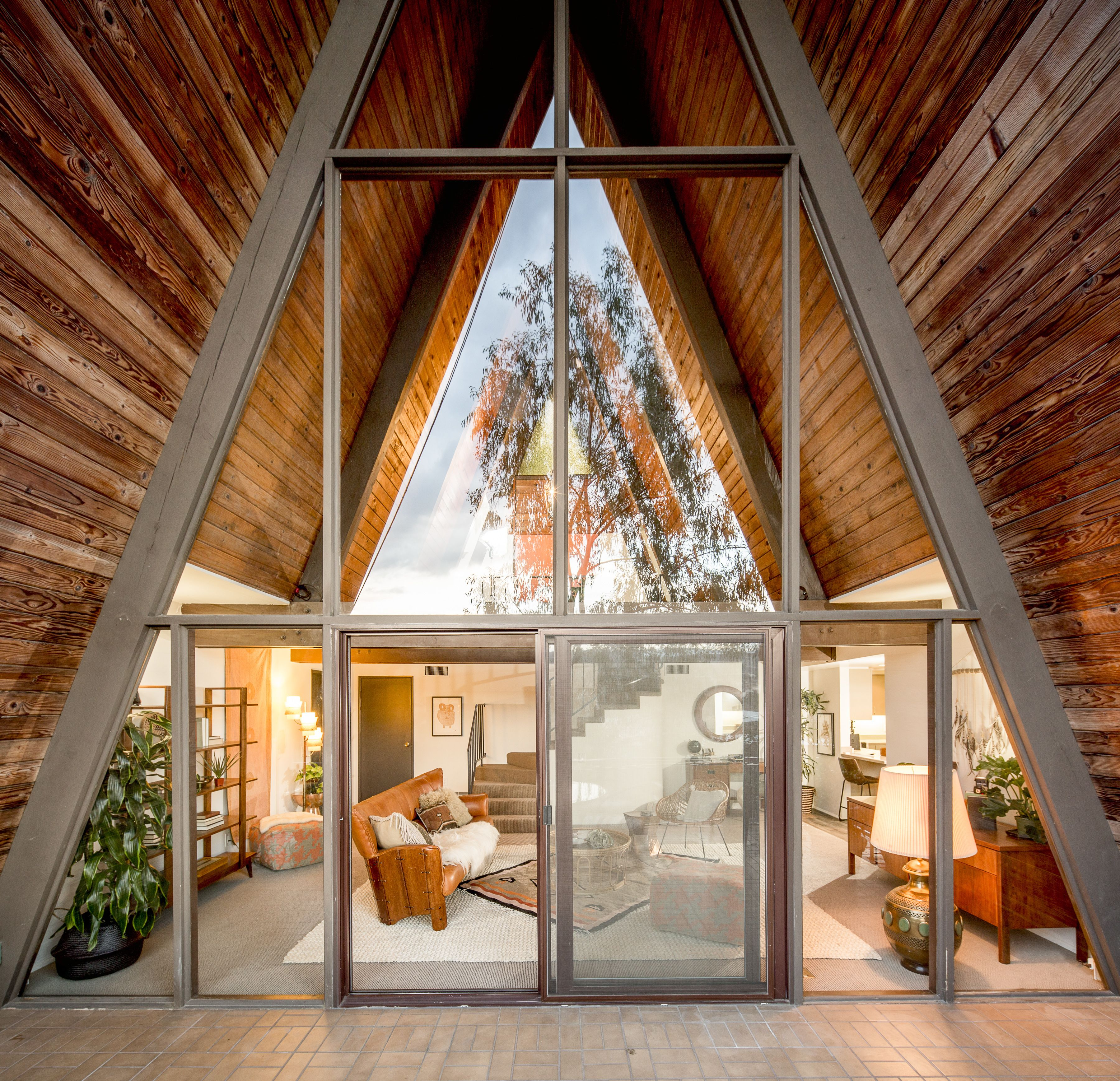 Photo 7 of 10 in A Modified A-Frame Overlooking Los Angeles Starts at…