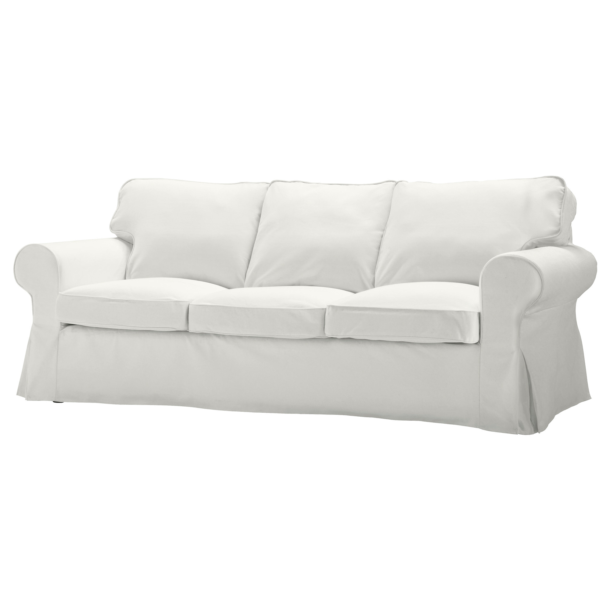 ikea karlanda sofa covers uk power recliner bed ektorp three seat blekinge white beach condo