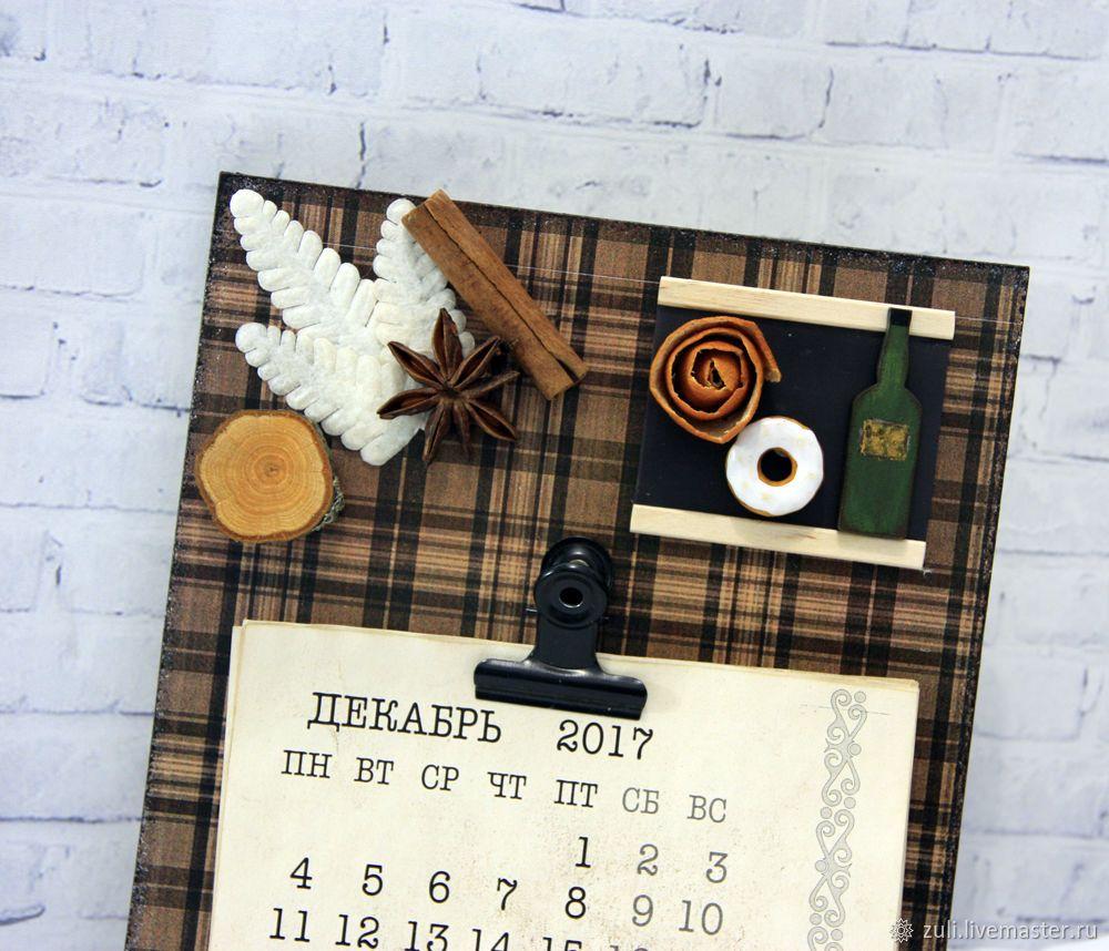 458a6f8f229d Календари ручной работы. Ярмарка Мастеров - ручная работа. Купить Настенный  календарь 2018 г.
