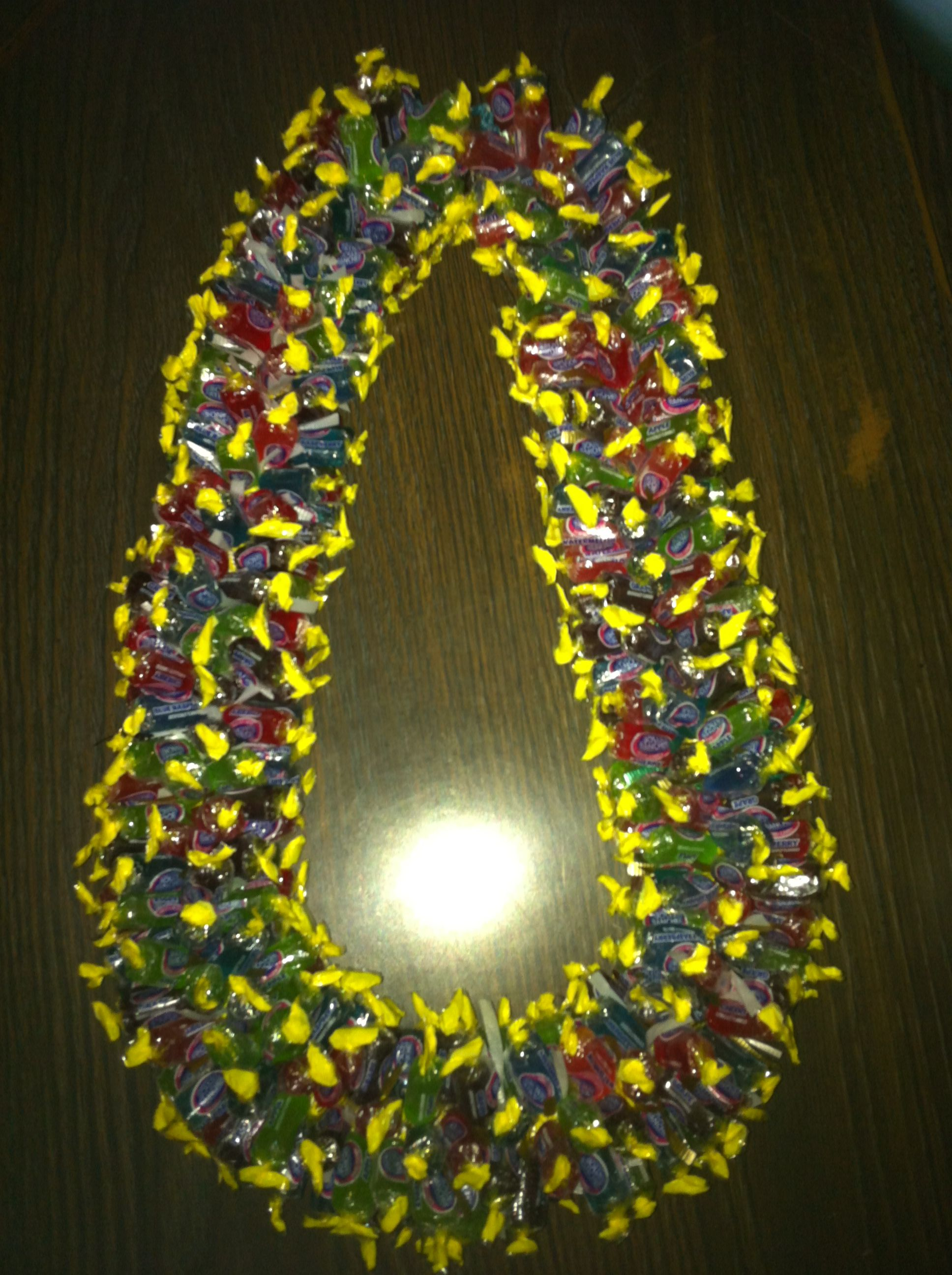 Jolly rancher candy lei | Arts & Craft | Candy necklaces ...