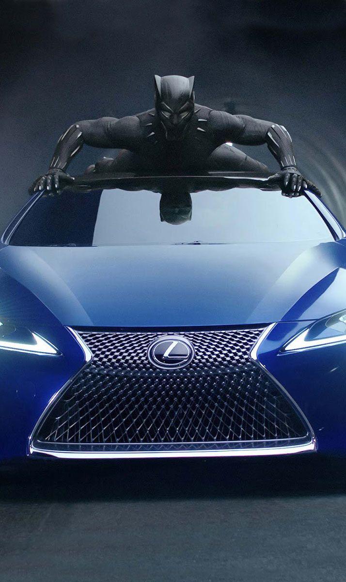 Black Panther Lexus Lc 500 Hd Wallpaper How Download