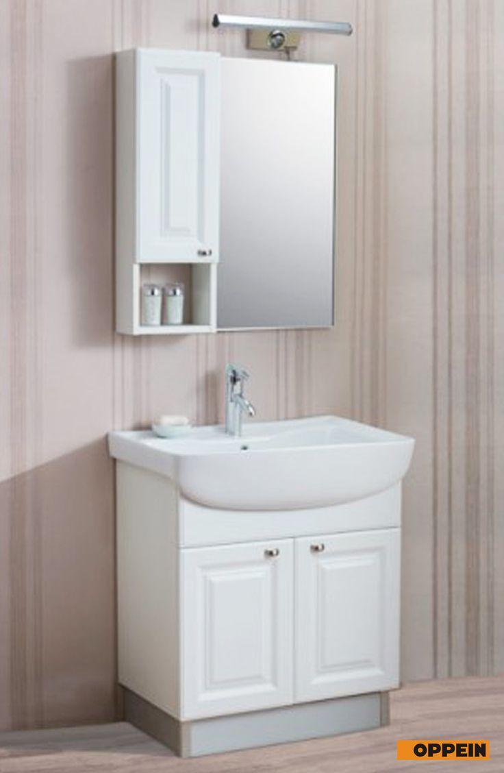 Traditional White Pvc Bathroom Cabinet Wholesale Bathroom