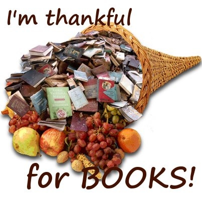 I'm thankful for books! | Cornucopia, Thanksgiving day, Holiday season