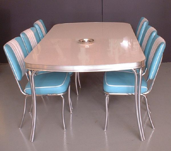 Retro Diner Tables And Booth From Wotever Co Uk
