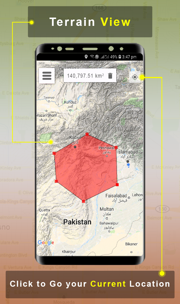 Area Calculator for land Gps Measurement is a unique Tool