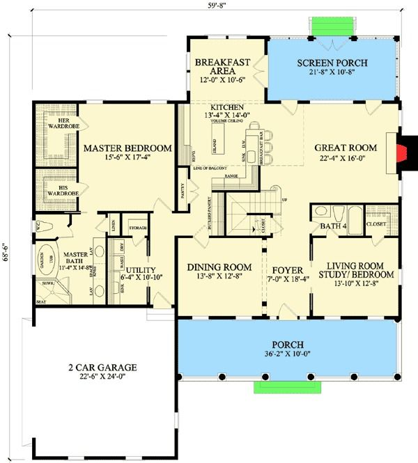 Plan 32609wp Shingle Style Home With First Floor Master Shingle Style Homes Shingle Style How To Plan