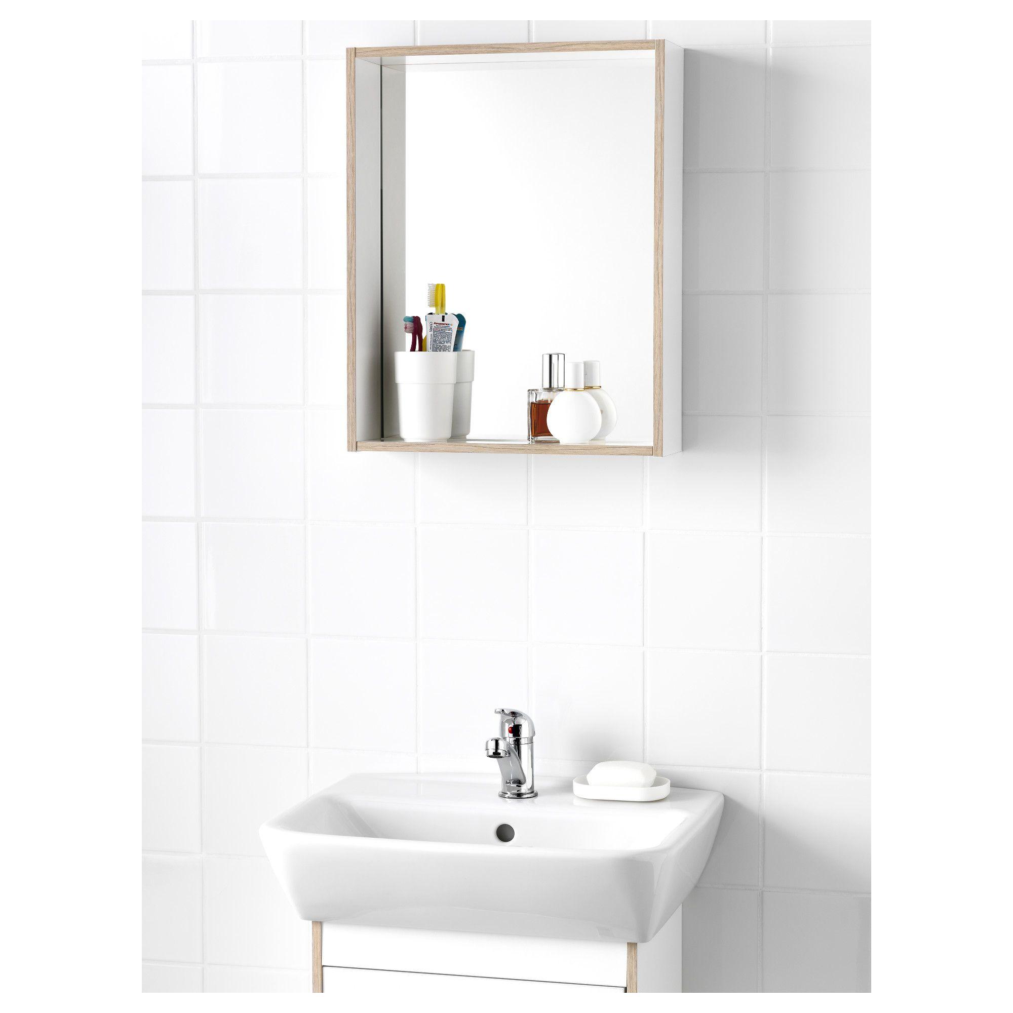 Tyngen Ogledalo S Raft Ikea Ikea Bathroom Mirror Mirror With