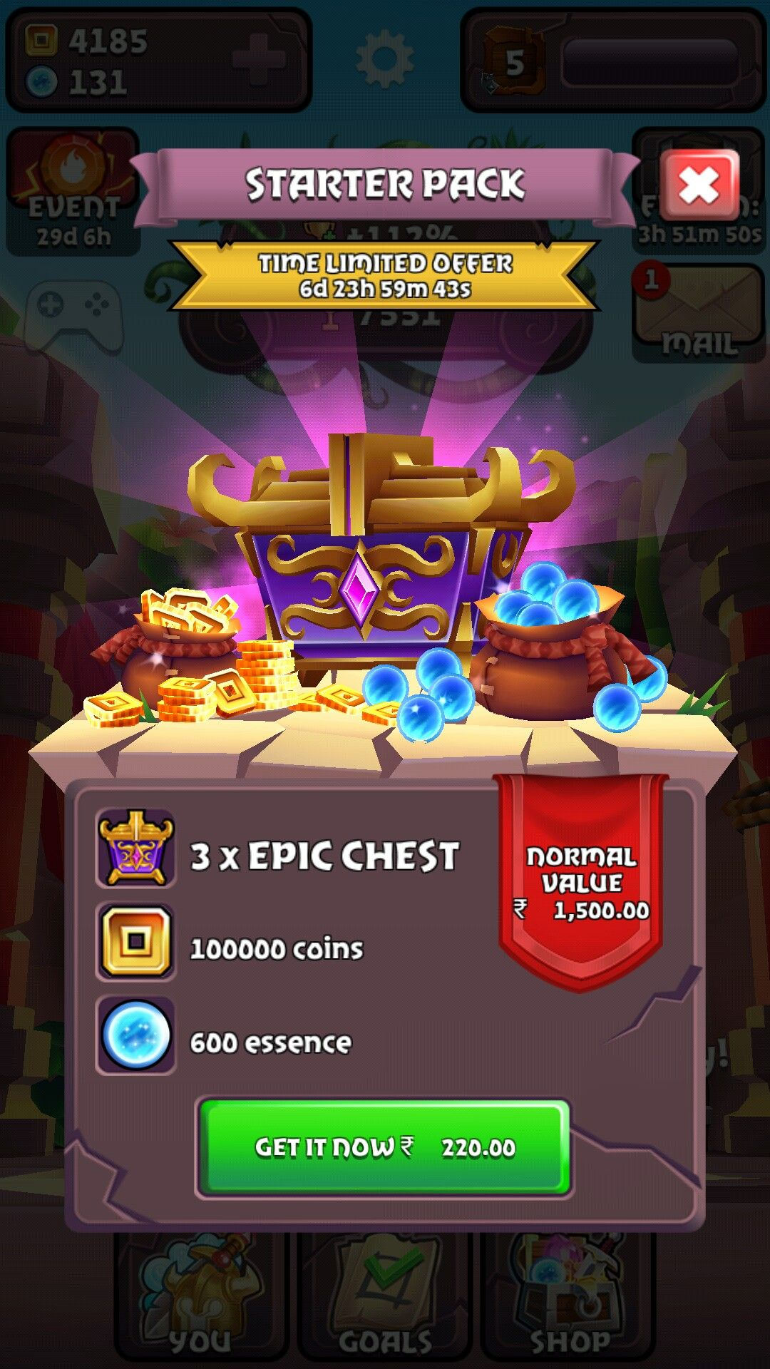Pin by sujin issac on Mobile Game UIs (iOS & Android