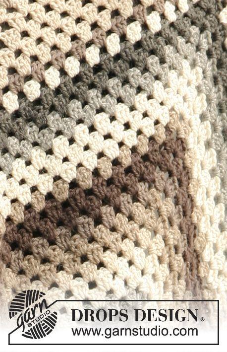 Free Pattern | Virka sticka | Pinterest | Frazada, Ganchillo crochet ...