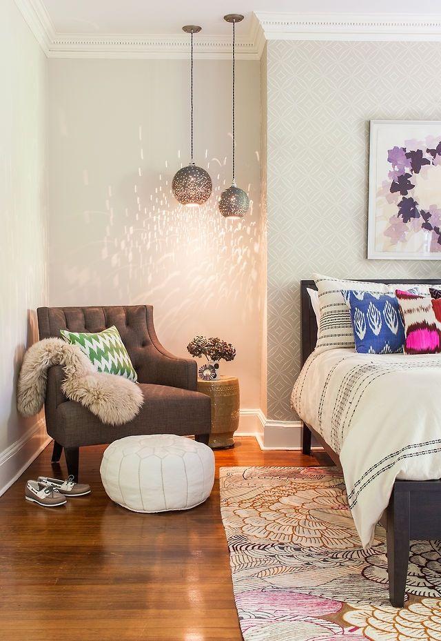 bedroom corner decorating ideas, photos, tips | : : s p a c e