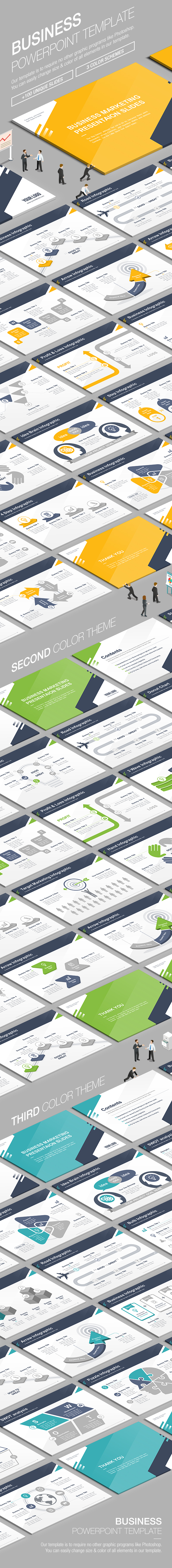 Business Powerpoint Template. Download here: https://graphicriver.net/item/business-powerpoint-template-009/17648253?ref=ksioks