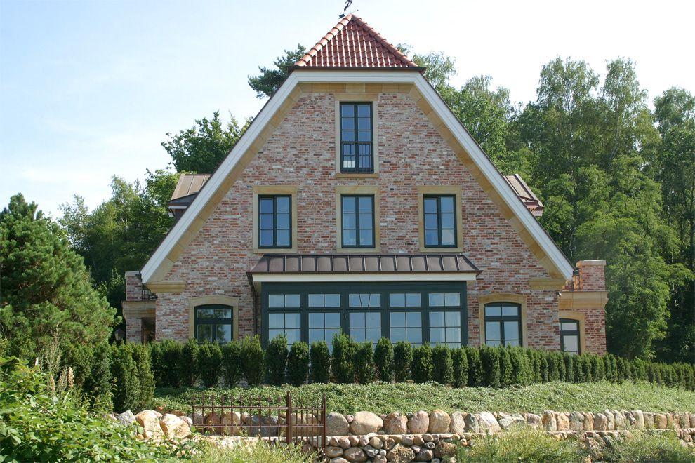 Mecklenburg 5 Haus außen, Haus, Baustil