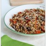 Smoked Sausage with Peppers, Mushrooms, Orzo, and Parmesan  - -  Instant Pot Chicken Rice Bowls – 365 Days of Slow Cooking and Pressure Cooking