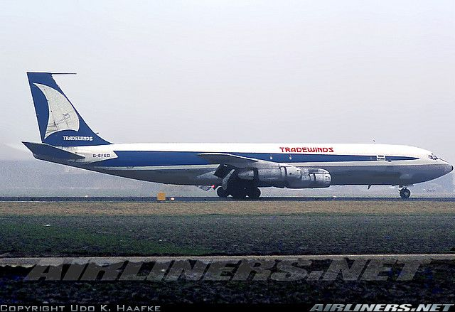 Boeing 707-323C aircraft picture