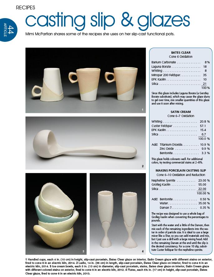 Recipes: Atmospheric Glazes   Glaze recipes   Ceramic glaze