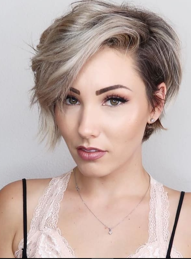 34++ Edgy short haircuts for round faces ideas in 2021