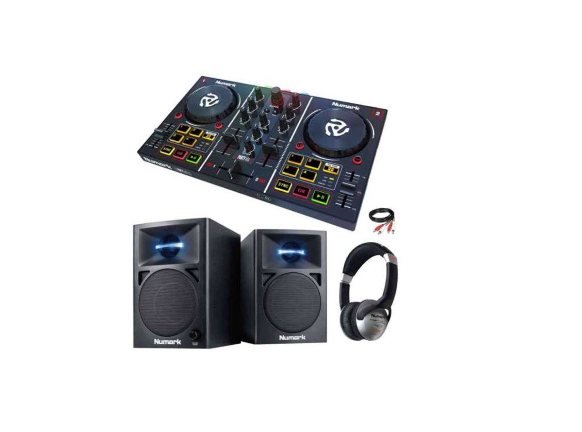 Numark Party Mix DJ Controller with Lightshow Monitor