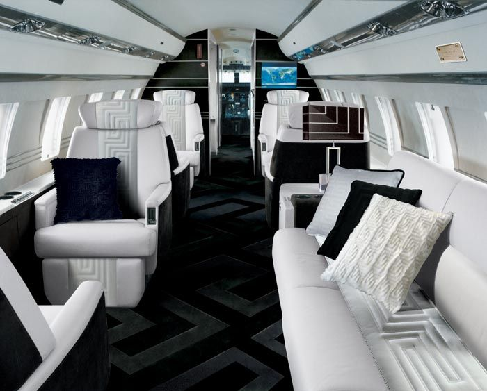VIP aircraft design; Aircraft Interior Design; Private Jet Design ...