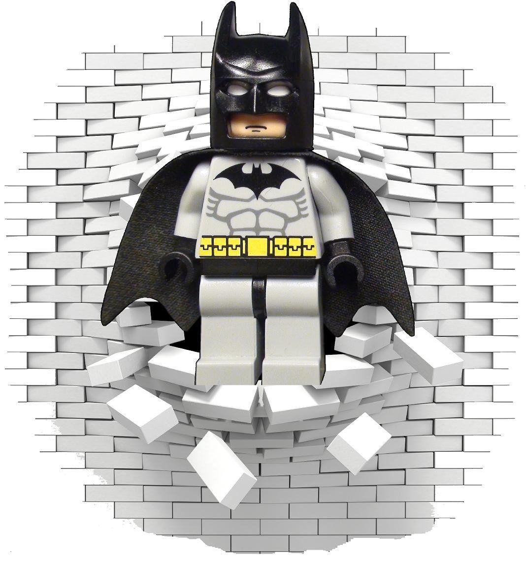 Lego Batman Wall Stickers And Decals Batman Wall Lego Batman