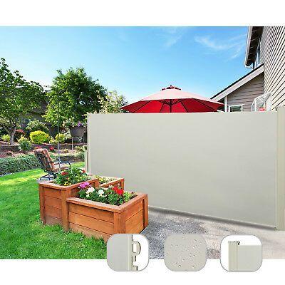 Sichtschutz PVC Doppelstabmatten Zaunfolie Windschutz blickdicht Windschutz • EUR 21,99