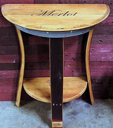 handmade furniture french oak wine barrel side table or end table you can find