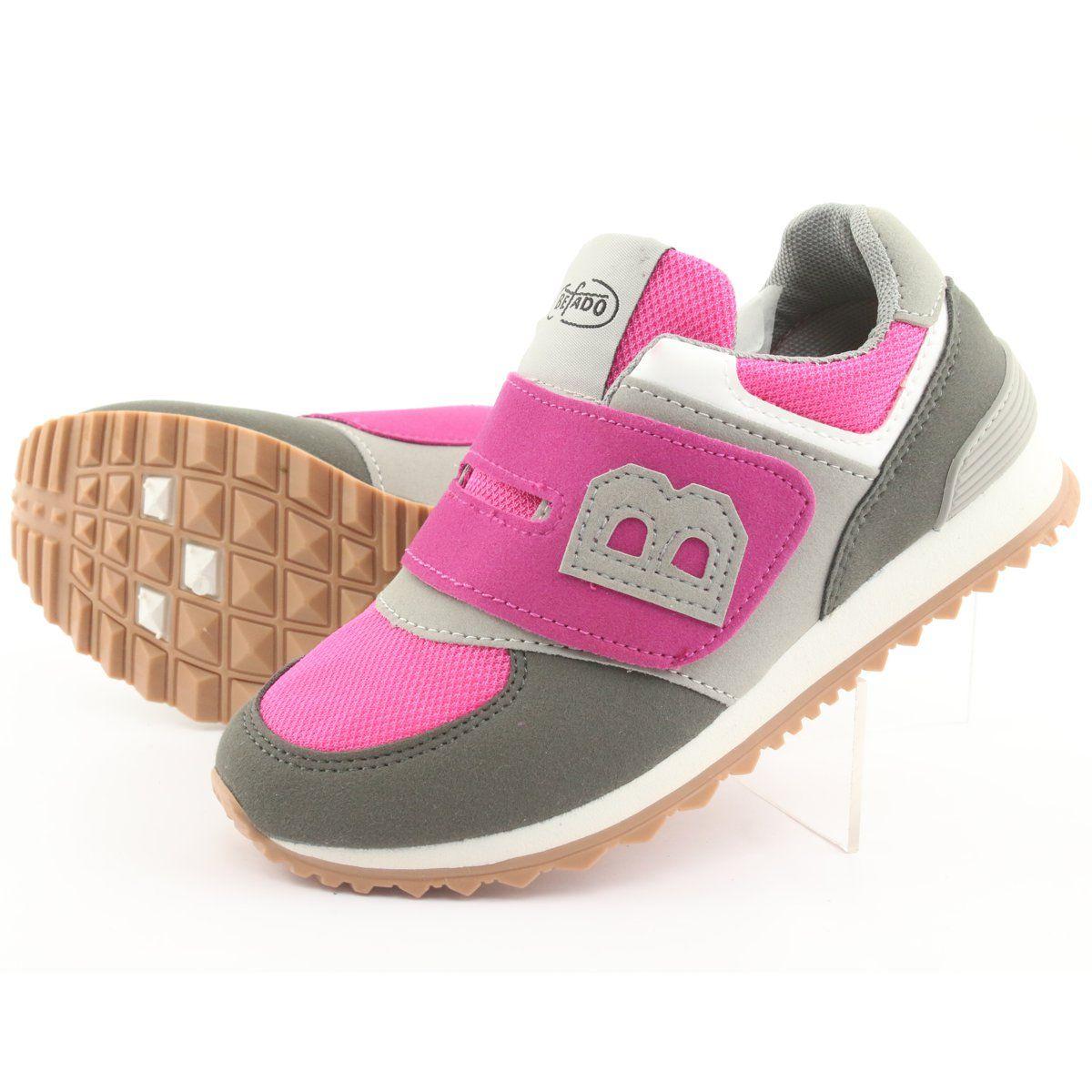 Befado Obuwie Dzieciece Do 23 Cm 516y039 Rozowe Szare Childrens Shoes Kid Shoes Shoes
