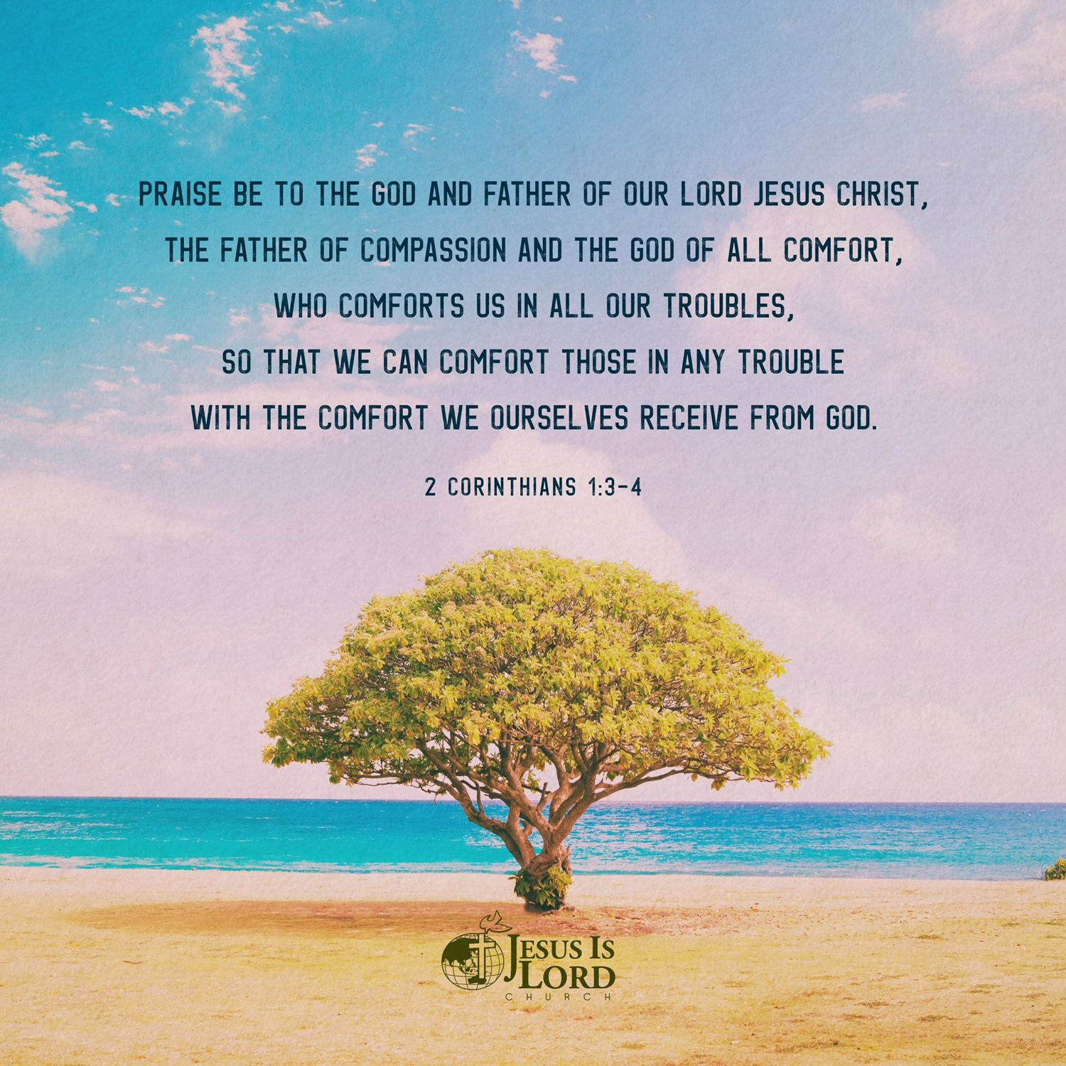 Verse Of The Day Praise Be To The God And Father Of Our Lord Jesus