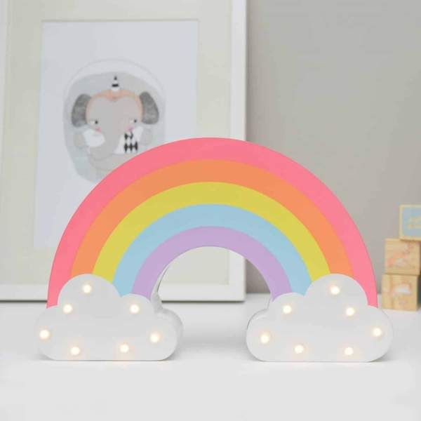 Pyc Kids Decor Rainbow Night Light