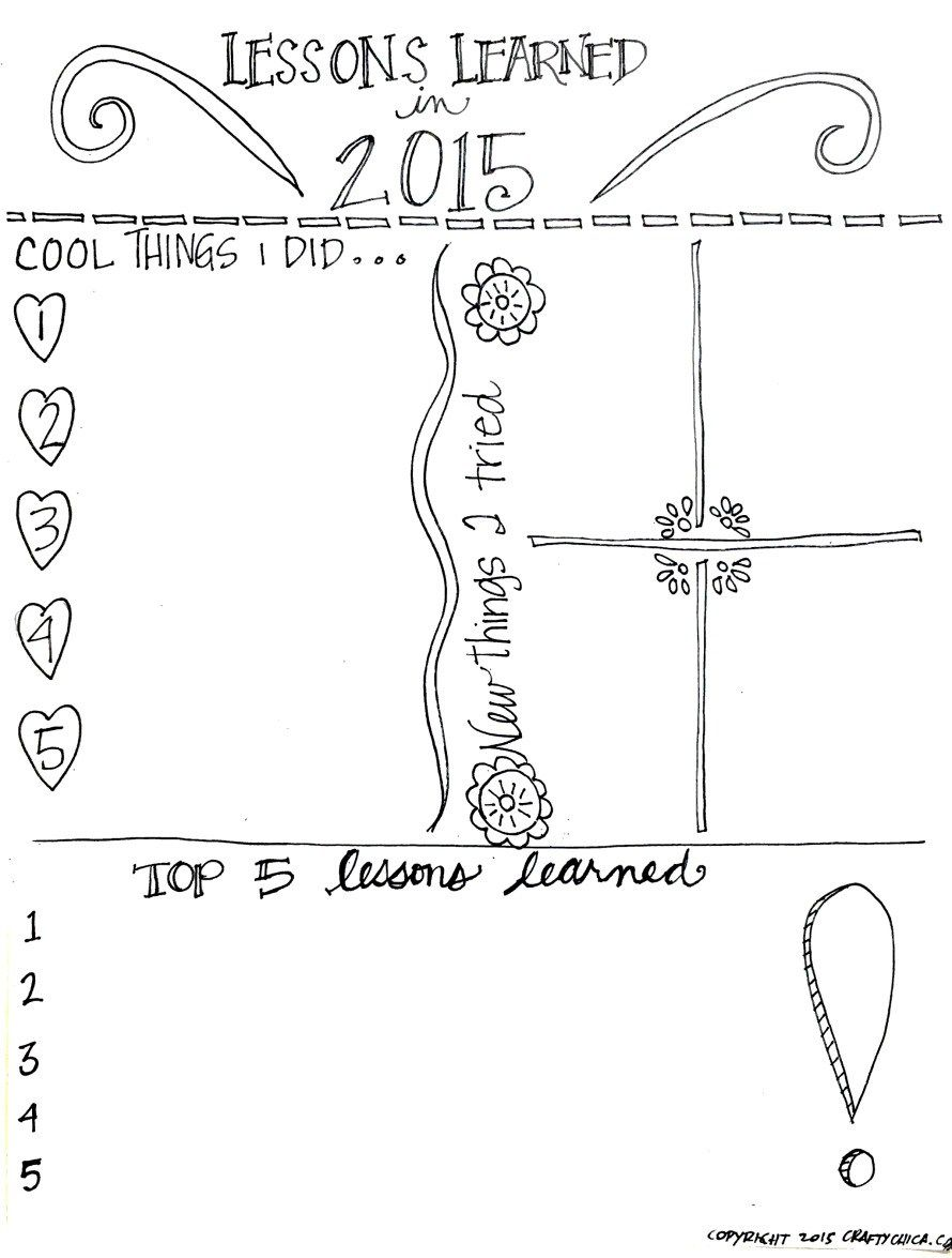 Savoring the last of the year: Coloring Pages + Zine for