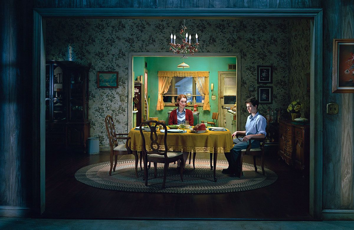 Gregory Crewdson. It makes my heart stop. LOOK at this. It's a photo!