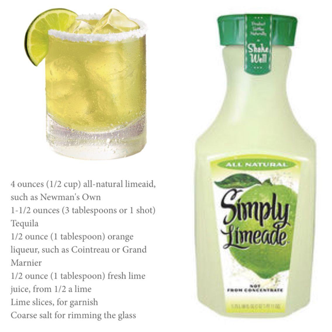 Limeade Margarita, Drinks